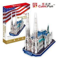 CubicFun Katedrála svatého Patrika 3D, New York 117 dielikov
