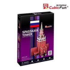 CubicFun Spasskaya-Turm, Russia 3D 33 dielikov