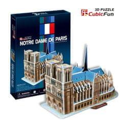 CubicFun Katedrála Notre-Dame 3D, Paríž 40 dielikov