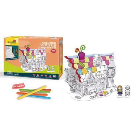 CubicFun 3D Puzzle - The House of Desserts