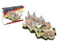 CubicFun Puzzle 185 dílků 3D Puzzle - Castle of Hohenzollern - Difficulty: 7/8