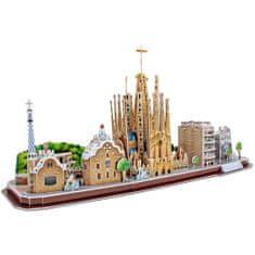 CubicFun Barcelona 3D 186 dielikov