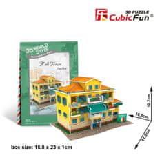 CubicFun Folk House Italia 3D 26 dielikov