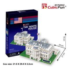 CubicFun Biely dom II 3D 65 dielikov