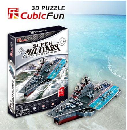 CubicFun Puzzle 103 db 3D Puzzle- Kiev Aircraft Carrier
