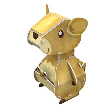 CubicFun 3D Puzzle - Kangaroo - Difficulty : 3/8