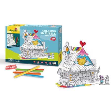 CubicFun 3D Puzzle - Toy House