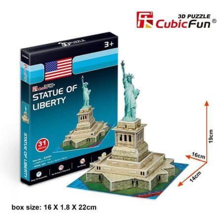 CubicFun 3D Puzzle Mini - Statue of Liberty - Difficulty: 2/8