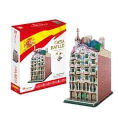 CubicFun 3D Puzzle - Casa Batlló - Difficulty: 4/8