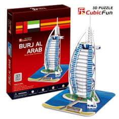 CubicFun 3D Puzzle - Burjal-Arab (Difficulty: 4/8)
