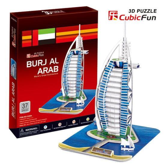 CubicFun Burj al Arab 3D 44 dielikov