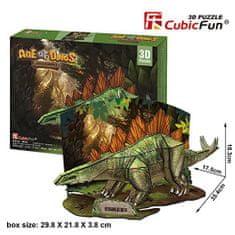 CubicFun 3D Jigsaw Puzzle - Stegosaurus