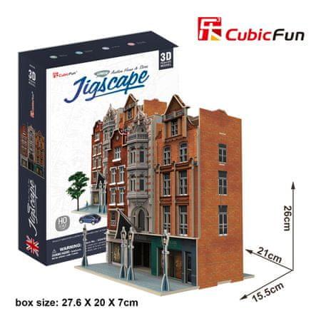 CubicFun 3D Jigsaw Puzzle - Jigscape Collection - Auction House & Stores (Diffi