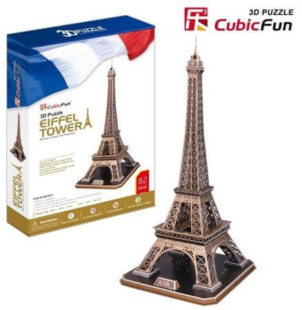CubicFun 3D Puzzle - France, Paris: Eiffel Tower