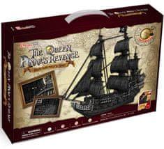 CubicFun Puzzle 308 db 3D Puzzle - The Queen Anne's Revenge - Difficulty :