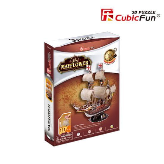 CubicFun Mayflower 3D 111 dielikov