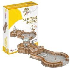 CubicFun 3D Puzzle - Saint Peter's Basilica in Rome