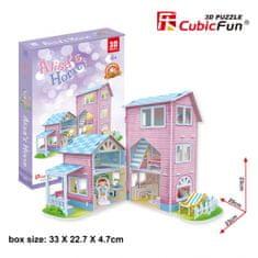 CubicFun Alisa Home 3D 73 dielikov