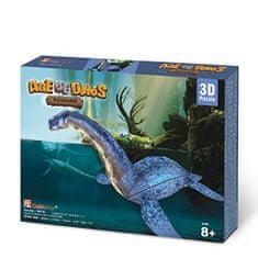 CubicFun 3D Jigsaw Puzzle - Plesiosaur