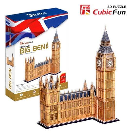 CubicFun Big Ben 3D 117 dielikov