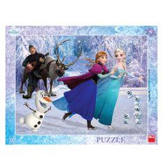 DINO Frame Puzzle - Frozen