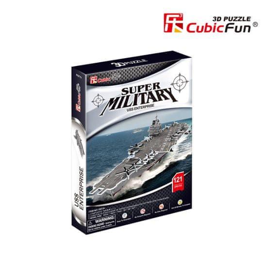 CubicFun USS Enterprise 3D 121 dielikov