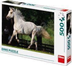 DINO Biely kôň na lúke 500 dielikov