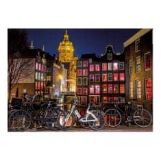 Dino Puzzle 1000 dílků Neon Puzzle - Amsterdam