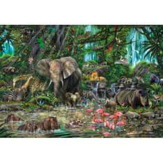 EDUCA Africká džungľa 2000 dielikov