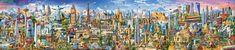 Educa Puzzle 42000 dílků The World Tour