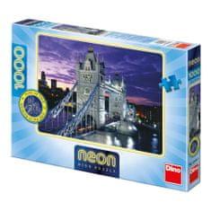 Dino Puzzle 1000 dílků Neon Puzzle - Tower Bridge, London