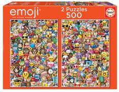 EDUCA Emoji 500 dielikov
