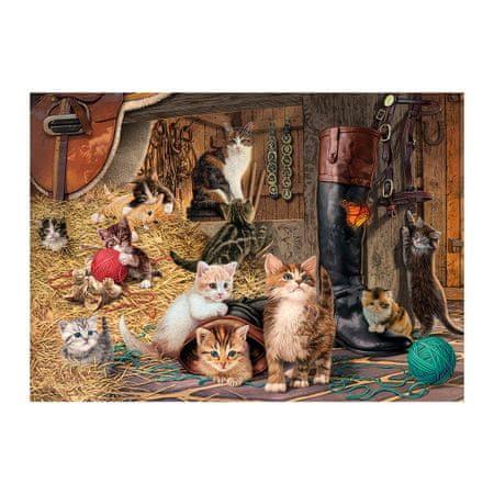Dino Puzzle 1000 dílků Secret Puzzle - Kittens