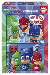 Educa 2 Puzzles - PJ Masks