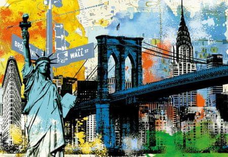 Educa Puzzle 1500 dílků Urban Liberty, New York