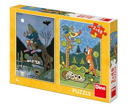 Dino 2 Puzzles - Fairy Tales