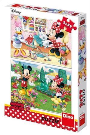 Dino 2 Puzzles - Mickey