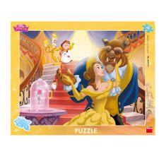 DINO Frame Puzzle - Disney Princess