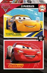 Educa 2 Puzzles - Cars