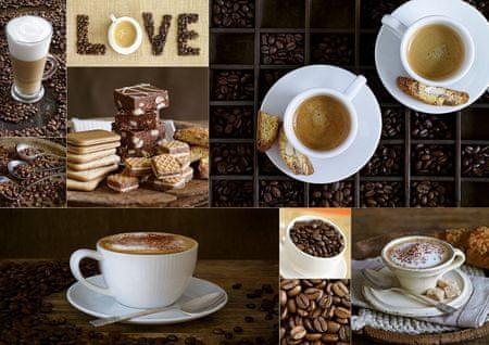 EDUCA Puzzle 1000 db Coffee