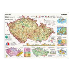 Dino Puzzle 2000 dílků Map of the Czech Republic