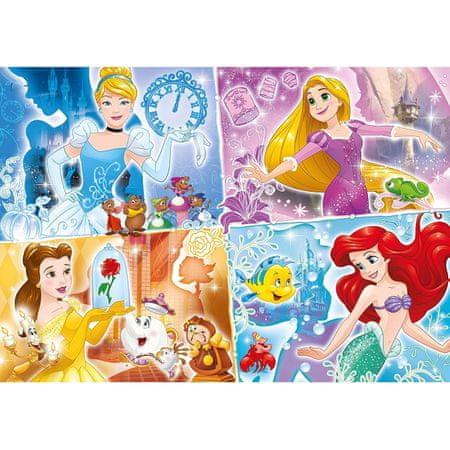 Clementoni Puzzle 104 db XXL db - Disney Princess