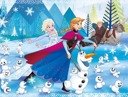 Clementoni Puzzle 180 db Frozen