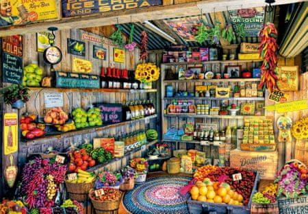 EDUCA Puzzle 2000 db The Farmers Market, Aimee Stewart