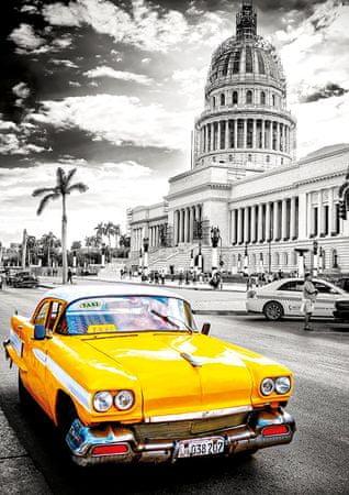 EDUCA Puzzle 1000 db Taxi in Havana, Cuba