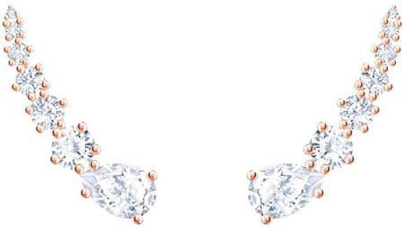 Swarovski Podszewka Kolczykiz przezroczystym i MOONSUN 5486352 kryształów