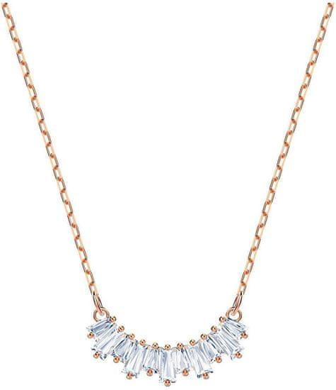 Swarovski Bronzový náhrdelník s trblietavými kryštálmi SUNSHINE 5459590