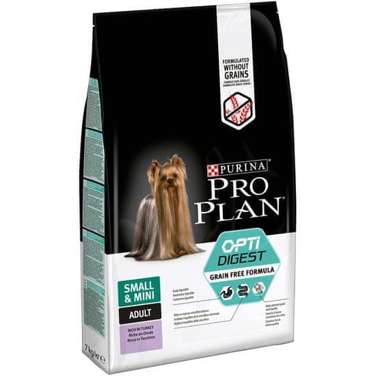 Purina Pro Plan Small & Mini Adult OPTIDIGEST Grain Free krůta 7 kg