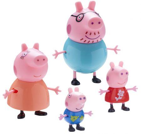 TM Toys Peppa Pig 4 db figurát tartalmazó készlet