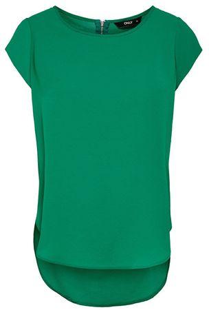 ONLY Női Vic S / S Solid Top Noos Wvn Ultramarine Green blúz (méret 36)